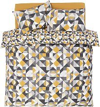 Argos Home Geo Blocks Bedding Set - Double