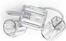 Argos Home Glam 3 Arm Bathroom Ceiling Light -