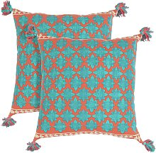 Argos Home Global Scatter Cushion - 2 Pack
