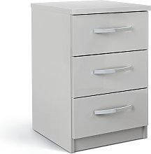 Argos Home Hallingford 3 Drawer Bedside Table -