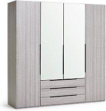 Argos Home  Hallingford 4 Door 3 Drawer Wardrobe -