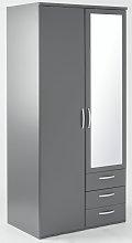 Argos Home Hallingford Grey 2 Door 3Drawer