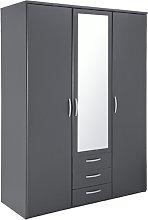Argos Home Hallingford Grey 3 Door 3Drawer