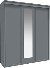 Argos Home Hallingford Grey 3 Door Sliding Wardrobe