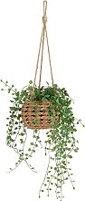 Argos Home Hanging Basket with Artificial Trailing