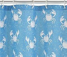 Argos Home Happy Crab Shower Curtain