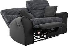 Argos Home Harry 2 Seater Fabric Recliner Sofa -