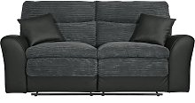 Argos Home Harry 3 Seater Fabric Recliner Sofa -
