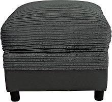 Argos Home Harry Fabric Storage Footstool -