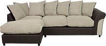 Argos Home Harry Large Left Corner Fabric Sofa -