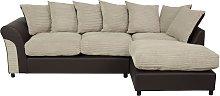 Argos Home Harry Large Right Corner Fabric Sofa -