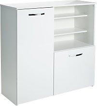 Argos Home Hayward 2 Door Sideboard - White Gloss