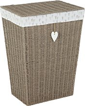 Argos Home Heart Laundry Basket