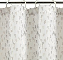Argos Home Heart Shower Curtain