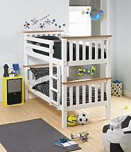 Argos Home Heavy Duty Bunk Bed Frame - White and