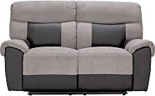 Argos Home Henry 2 Seater Fabric Recliner Sofa -