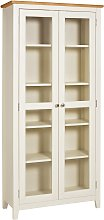 Argos Home Highbury Display Cabinet - Two Tone