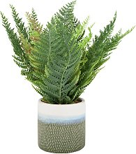 Argos Home Highlands Artificial Fern Plant