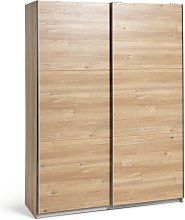 Argos Home Holsted Medium Wardrobe - Oak Effect