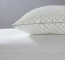 Argos Home Honeycomb Jersey Medium Pillow