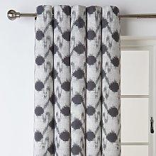 Argos Home Ikat Fully Lined Eyelet Curtains