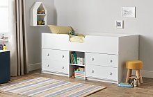 Argos Home Jackson Mid Sleeper Bed & Kids Mattress