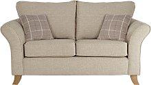 Argos Home Kayla 2 Seater Fabric Sofa - Beige