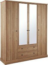 Argos Home Kensington 4 Dr 2 Drw Mirror Wardrobe -