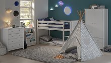 Argos Home Kids Play Silver Teepee Tent
