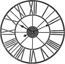 Argos Home Large Numerical Wall Clock - Black