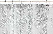 Argos Home Le Marais Shower Curtain - Silver
