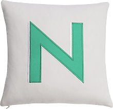 Argos Home Letter N Cushion