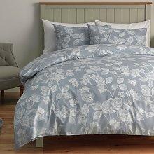 Argos Home Light Blue Floral Bedding Set - Double