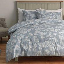 Argos Home Light Blue Floral Bedding Set - Kingsize
