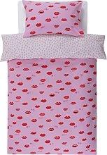 Argos Home Lips Bedding Set - Single