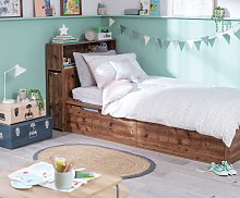 Argos Home Lloyd Cabin Bed and Mattress - Dark Oak