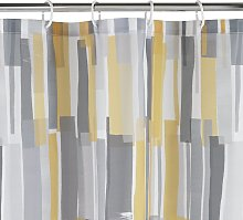 Argos Home Loft Anti Bacterial Shower Curtain