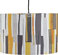 Argos Home Loft Block Print Shade
