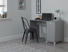 Argos Home Loft Locker Desk - Grey