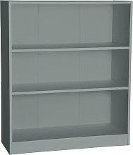 Argos Home Maine 2 Shelf Small Bookcase - Grey