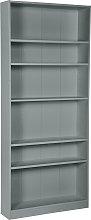 Argos Home Maine 5 Shelf Tall Wide Bookcase - Grey