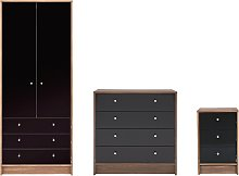 Argos Home Malibu Gloss 3 Piece Wardrobe Set -