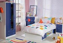 Argos Home Malibu Kids 3 Piece 2 Door Wardrobe Set