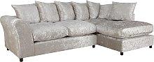 Argos Home Megan Large Right Corner Fabric Sofa -