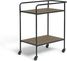 Argos Home Metal and Wood Tea Trolley