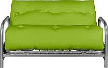 Argos Home Mexico 2 Seater Futon Sofa Bed - Green
