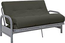 Argos Home Mexico 2 Seater Futon Sofa Bed  - Grey