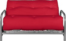 Argos Home Mexico 2 Seater Futon Sofa Bed - Red