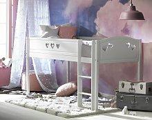 Argos Home Mia Mid Sleeper Bed Frame - White