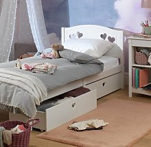 Argos Home Mia Single Bed Frame with 2 Drawers -